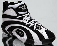 Reebok Shaqnosis Men's Black White Retro Basketball Lifestyle Sneakers Shoes