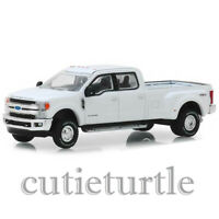Greenlight 2018 Ford F-350 Lariat King Ranch Dually 1:64 White 46010 C