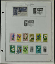 Poland 1962 Page Of Stamps #V10501