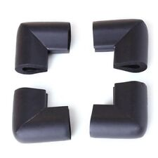 4pcs Bumper Corner Protectors by Table Edge Baby Safety Black C5W8