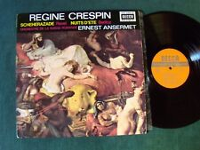 REGINE CRESPIN Ravel Berlioz Les nuits d'été ERNEST ANSERMET LP DECCA SXL 6.081