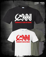 CNN Communist News Network Shirt Funny Tabloid Fake Corporate Media Trump Fraud