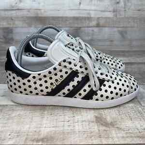 Adidas Gazelle Polka Dot Athletic Sneakers 7.5