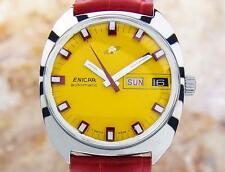 Enicar Swiss Made Mens Rare Authentic Vintage Automatic Watch Circa 1968 Jr18