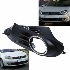 2x For VW MK6 Golf 2012-2014 Front Lower Bumper Fog Grill Cover Driver+Passenger