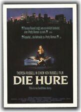DIE HURE ♦ 1991 ♦ CINEMA Filmkarte Karte ♦ Theresa Russell ♦ Antonio Fargas