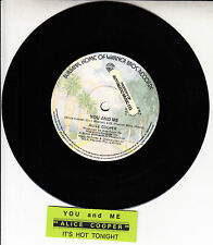 "ALICE COOPER  You And Me 7"" 45 rpm vinyl record + juke box title strip"