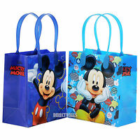 Mickey Mouse Licensed Reusable Small Party Favor Goodie 12 Bags