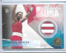 RARE 2016 TOPPS OLYMPIC CLARESSA SHIELDS GOLD RELIC CARD 20/25  USA BOXING GREAT