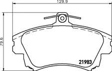 Textar Bremsbelagsatz VA Bremse Lucas - Nr. 2198302