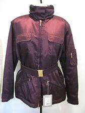 Sonia Bogner FRANCY Purple Designer Ski Jacket Size 10