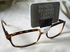 """Foster Grant""""Owen"""" Plastic Framed Reading Glasses RRP Upto £12.50 From £4.99..."""