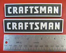 2 Sears Craftsman Small Tool Box Badges Chest Cabinet Emblem Decal Sticker Logo