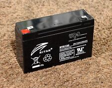 - Ritar 6v 12ah Top Quality Rechargeable Lead Acid Battery RT6120