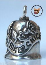 BIKER CHICK MOTORCYCLE GREMLIN RIDE BELL **MADE IN USA**