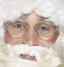 Fancy Dress Wire Framed Round Glasses Santa Specs Teacher Potter by Smiffys New