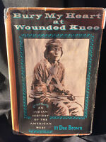 Bury My Heart at Wounded Knee By Dee Brown VG/Good RARE Prntg