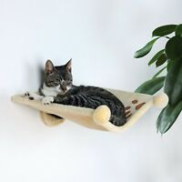 43511 Wall Hammock Bed For Cats - Plush Cover - Stable Metal Frame