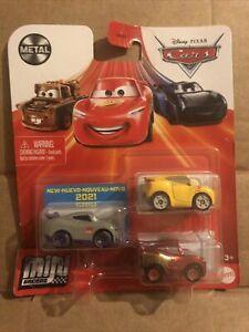 DISNEY CARS DIECAST Mini Racers Kurt, Cruz Ramirez - Please Read Description