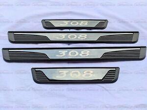 für Peugeot 308 Auto Zubehör Teile Schutz Beschützer Einstiegsleisten Stoßstange