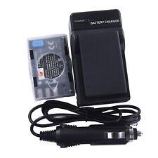 DSTE 2x EN-EL9 Battery + Travel and Car Charger For Nikon D40 D60 D3000 D5000