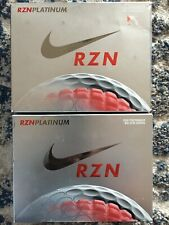New Nike RZN Platinum Golf Balls