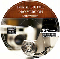 Image Editor Pro Photo Editor Painter Illustrator Software PC & MAC Latest 2018