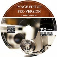 Image Editor Pro éditeur photo peintre illustrateur logiciel PC & MAC Latest 2018