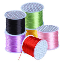 80 M / Roll Elastic Stretchy Beading Thread Cord Bracelet String Jewelry Making