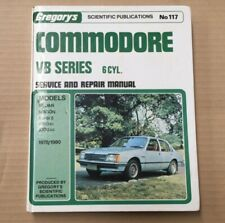 VB Holden Commodore Service Repair Manual GMH SLE 1978 1979 1980 6 Cylinder 117