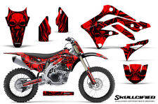 KAWASAKI KXF450 KX450F 12-15 CREATORX GRAPHICS KIT DECALS SKULLCIFIED RNP