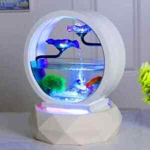 Goldfish Bowl Decoration Living Room Small Ecological Desktop Household