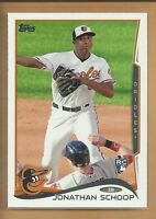Jonathan Schoop RC 2014 Topps Series 1 Rookie Card # 83 Baltimore Orioles