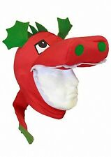 WALES RUGBY/FOOTBALL WELSH DRAGON HEAD WITH TAIL NOVELTY HAT UNISEX ONE SIZE