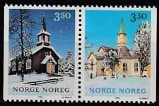 Noorwegen postfris 1993 MNH 1141-1142 - Kerstmis / Christmas