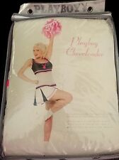 Adult Playboy Woman's Cute Cheerleader Costume Sexy Fancy Dress Medium 10-12