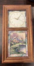 Thomas Kinkade Time for All Seasons Clock