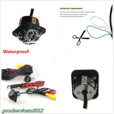 Waterproof DC 12V 170° 600 TVL Vehicles Mini CCD Backup Parking Hole Camera Kit