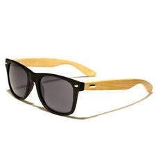 Unisex Bamboo Sunglasses Wooden Wood Mens Womens Retro Vintage Summer Glasses