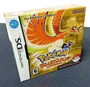 Pokémon Pokemon HeartGold Version w Pokewalker and Bonus Ho-oh Nintendo DS New