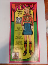 """Uncut Original Amy Carter Paper Doll White House 13"""" in Box"""