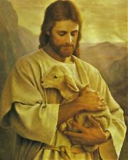Jesus The Good Shepherd 8x10 Photo Print Spiritual Bible God Christian (A195)