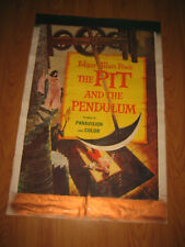 The Pit and the Pendulum Original 1sh Movie Poster