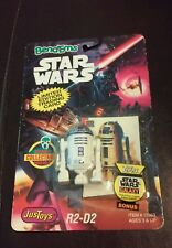 "New 1993 Star Wars Bend-Ems R2-D2 Figure 2 1/2"" W/ Limited Edition Trading Card"