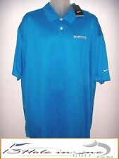 Nike Dri-Fit Men's Golf Shirt Short Sleeve Size 3XL Blue Nice Polyester NWT