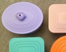 Le Creuset Serving Containers Purple and Orange 2 New