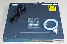 Cisco WS-C3560X-24T-E (-S/-L) Switch 24xGE non-PoE Upgraded IPService IOS