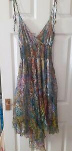 Floral chiffon Fairy Summer Dress Size 8/10