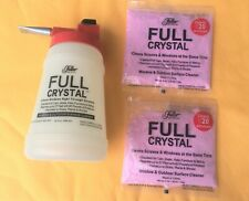 Fuller Brush Crystal Outdoor Glass and Window Cleaner w/ Bottle and 2  4oz packs