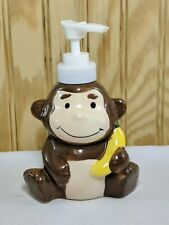 Bathroom Soap Dispensers Dish monkey with Banana Ceramic Greenbriar Int